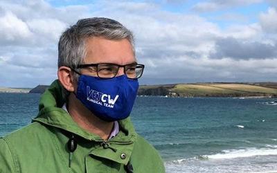 Cornwall Screenprint Facemasks