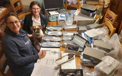 Veterinary Orthopaedics Equipment Arrives