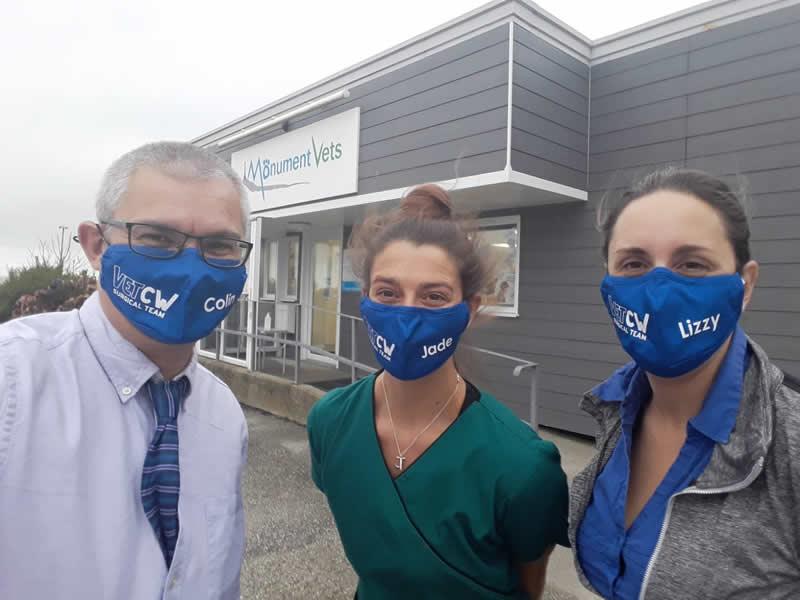 vet nurse jade at VETCW Cornwall